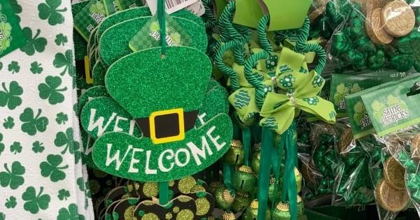 St. Patricks Day die Party Deko ganz in Grün