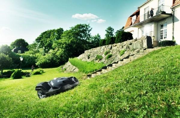 Top 3 der besten automatischen Roboter Rasenmäher husqvarna automower steigt hügel hoch