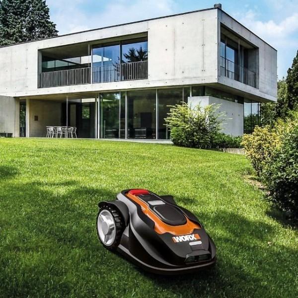 Top 3 der besten automatischen Roboter Rasenmäher worx landroid steigt hügel runter schöner garten
