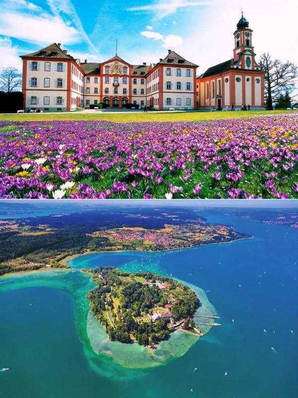 Urlaub in Konstanz – kennzeichnende Destinationen der größten Stadt am Bodensee insel mainau botanischer garten