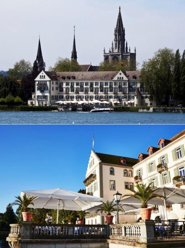 Urlaub in Konstanz – kennzeichnende Destinationen der größten Stadt am Bodensee steigenberger inselhotel