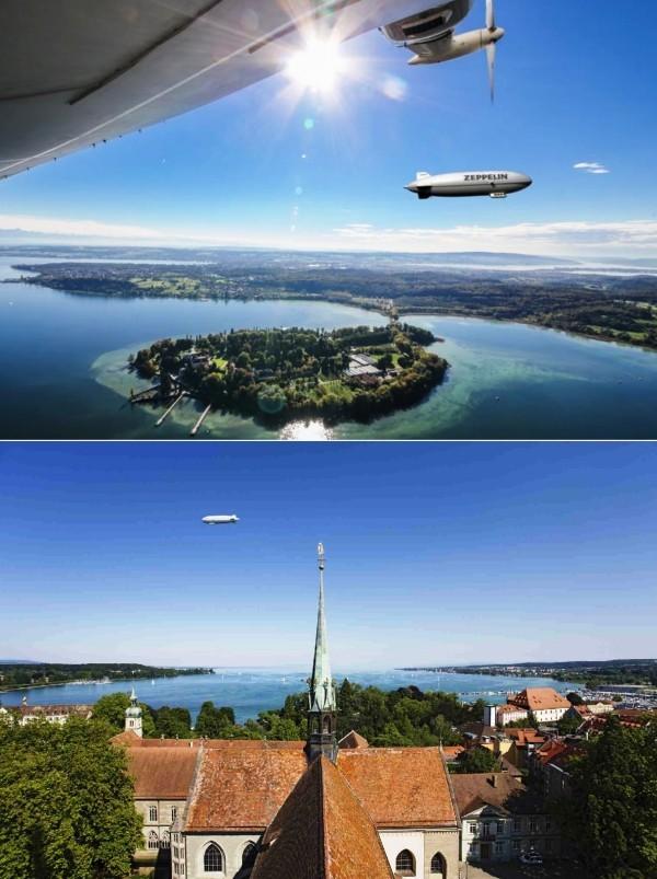 Urlaub in Konstanz – kennzeichnende Destinationen der größten Stadt am Bodensee zeppelin museum in friedrichtshafen