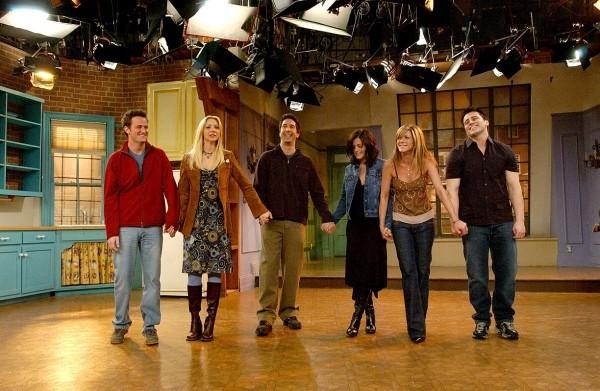 alle Schauspieler aus Friends zusammen