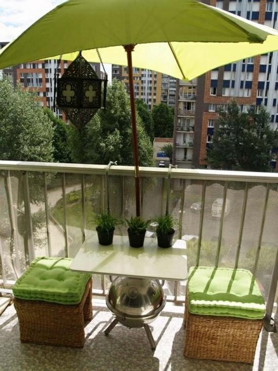 balkongestaltung dekoideen balkon balkonm;bel