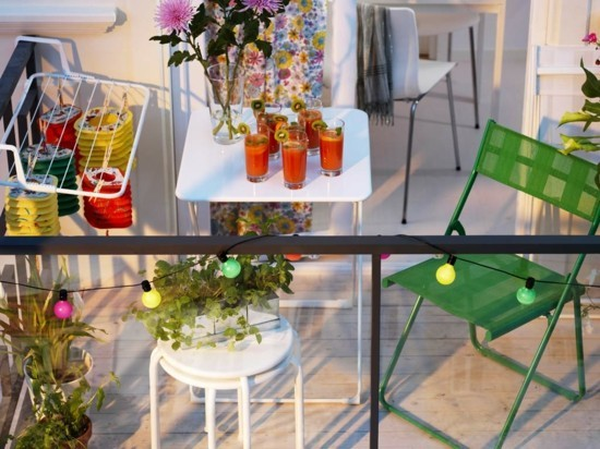 balkonmöbel ideen balkongestaltung balkon einrichten