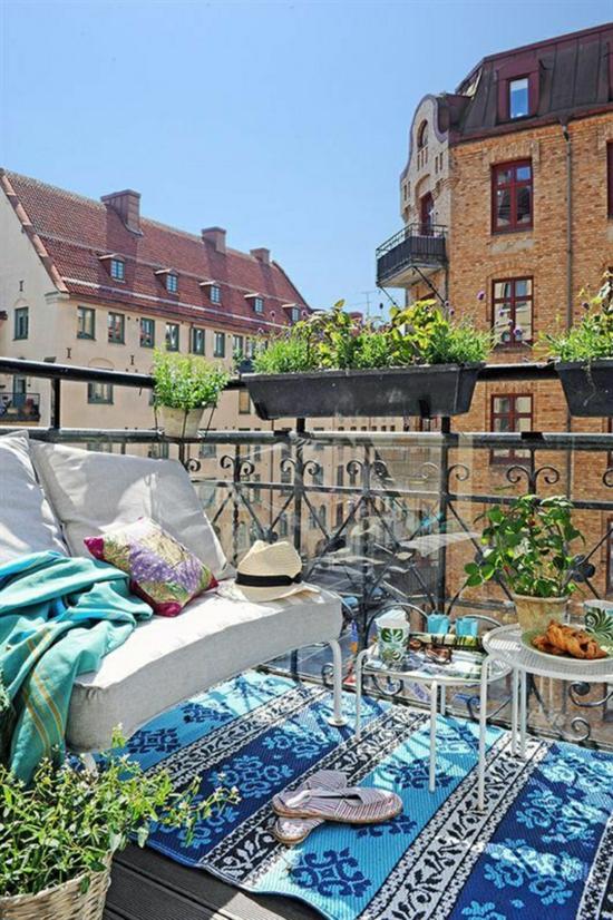 balkonpflanzen balkongestaltung balkon dekorieren