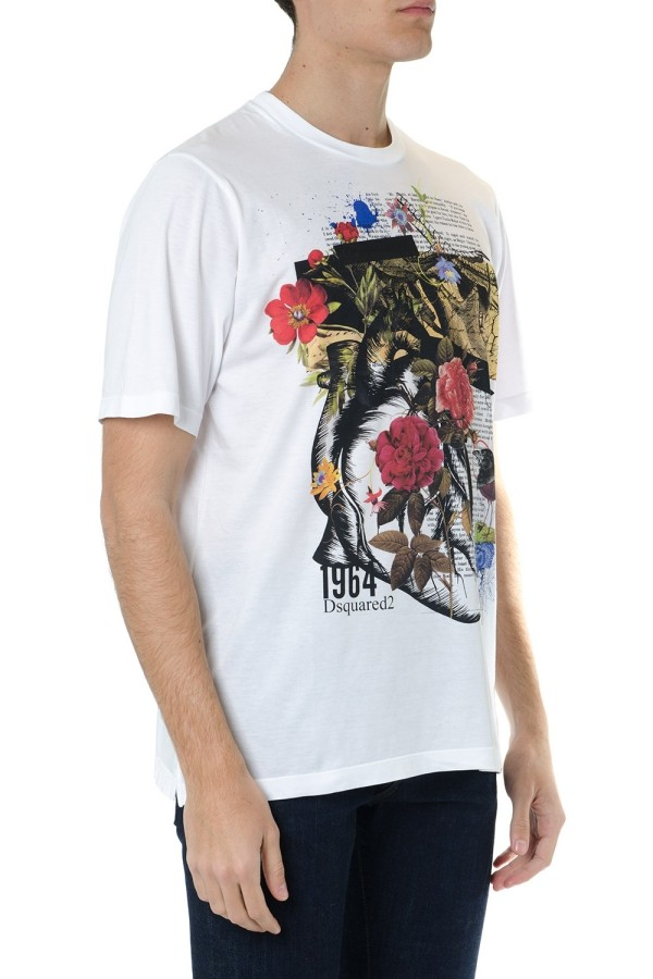 bedruckte T-Shirts tolle Blumen
