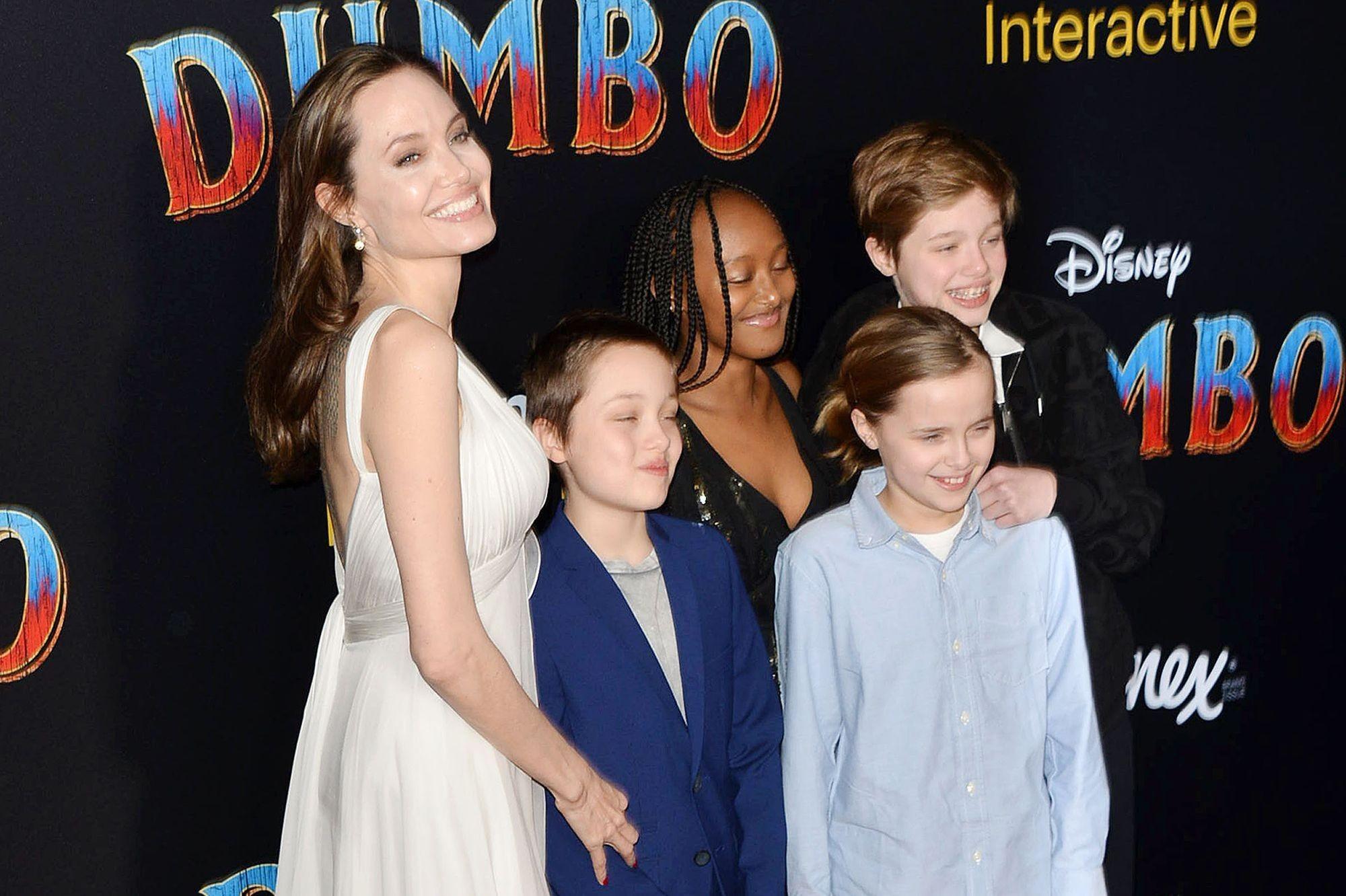 dumbo vier kinder - angelina jolie
