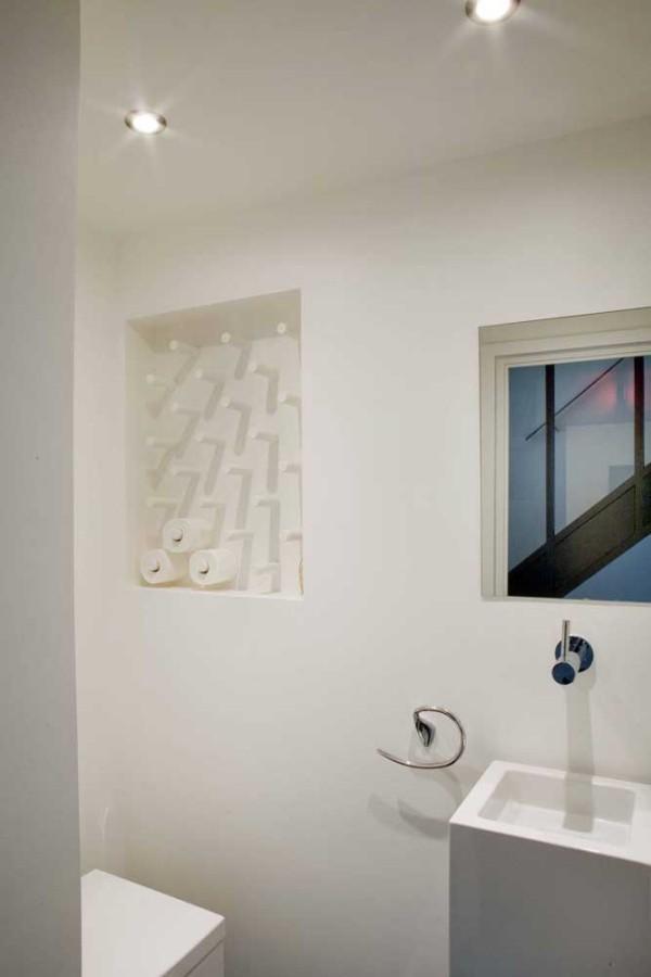 fenster im badezimmer wandgestaltung