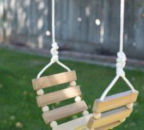 Gartenschaukel für Kinder – DIY Ideen für kreative Eltern