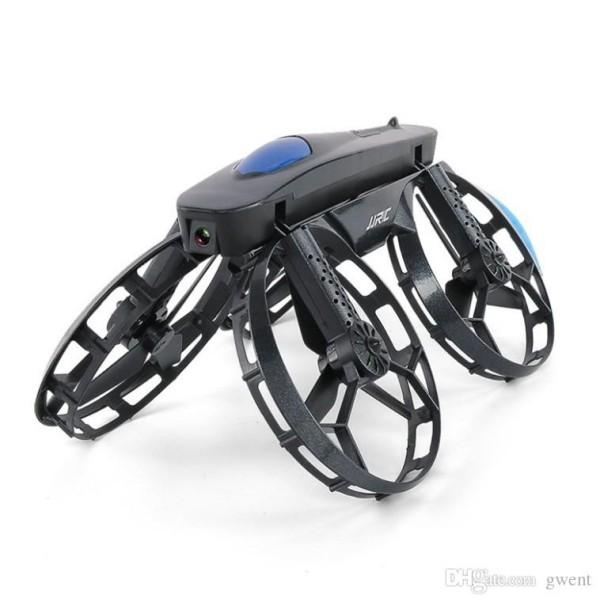 jjrc 2019 flugroboter auf rädern