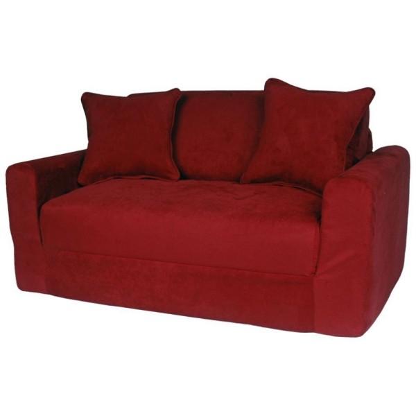 kidnermöbel purpurrot - zwei sitze