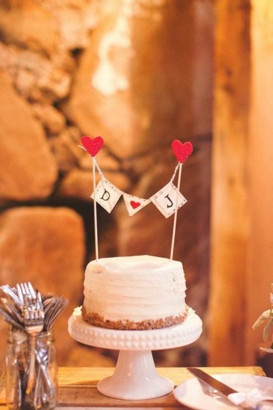 kuchengirlande selber machen zum valentinstag
