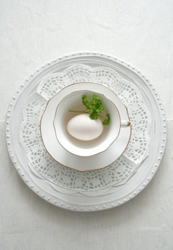 minimalistische osterdeko ideen