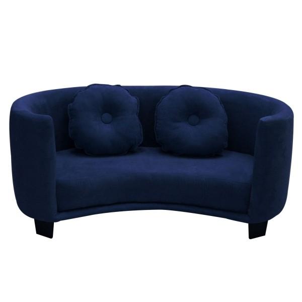 ovales doppeltes sofa kidnermöbel