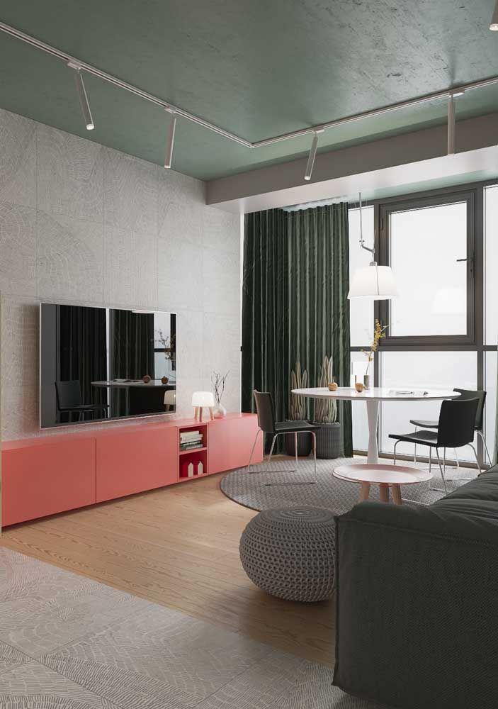 rosa und grau Einrichtung Ideen