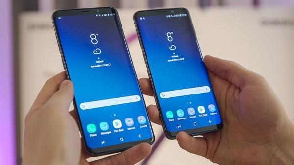 samsung galaxy s9 zwei smartphones