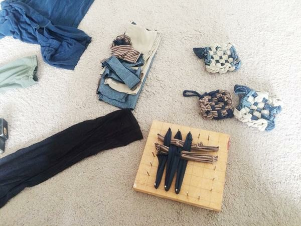 tawashi aus alten kleidern anleitung