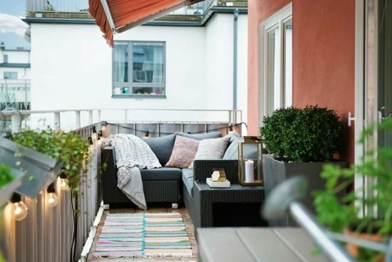 urlaubsfeeling auf dem balkon balkongestaltung
