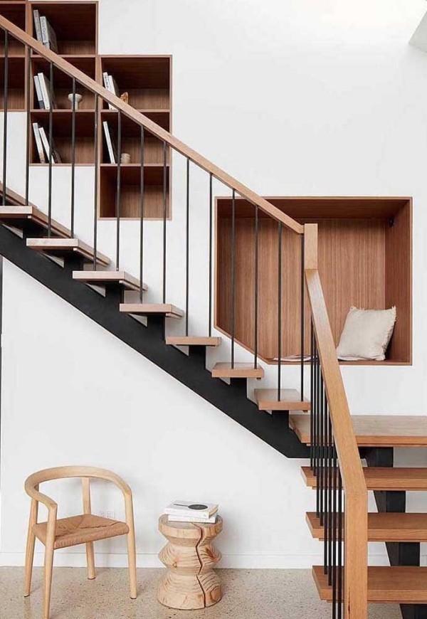 wandgestaltung tolle Treppengestaltung