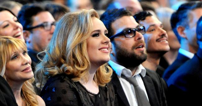 Adele britische Erfolgssängerin Simon Konecki 8 Jahre lang ein Paar