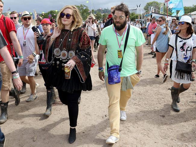 Adele britische Erfolgssängerin Simon Konecki gehen nun getrennte Wege