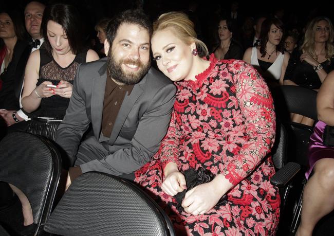 Adele britische Erfolgssängerin glücklich mit Simon Konecki