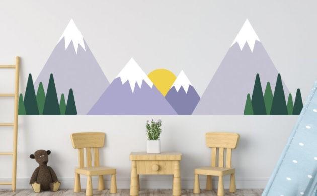 Das Wandtattoo verleiht Ihren Wohnräumen einen bezaubernden Charme