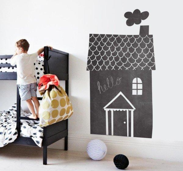 Das Wandtattoo verleiht Ihren Wohnräumen einen bezaubernden Charme tafelfolie wohnhaus kinderzimmer