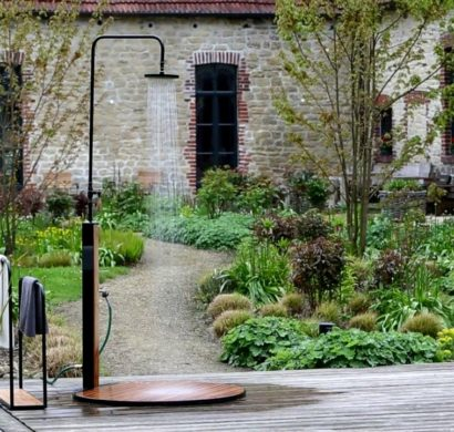 Die Gartendusche bringt Ihnen die willkommene Erfrischung im ...