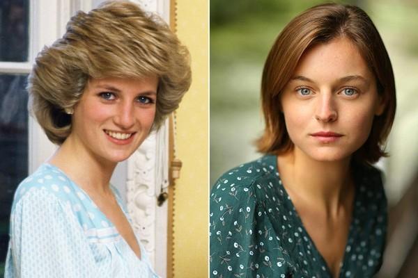 Emma Corrin spielt Lady Diana unschuldiges und sehr nettes Gesicht