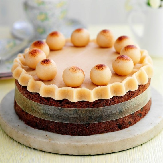 Früchtekuchen Rezepzt Kuchen zum Muttertag Mandelkuchen