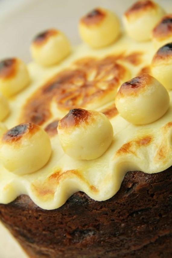 Früchtekuchen Rezept Kuchen zum Muttertag Simnel Osterkuchen