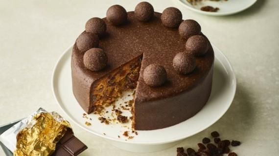 Früchtekuchen Rezept Kuchen zum Muttertag Simnel Schoko Osterkuchen