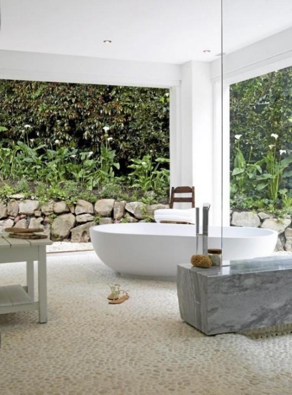 Gartendusche Outdoor-Bad Badewanne Badparadies im Freien