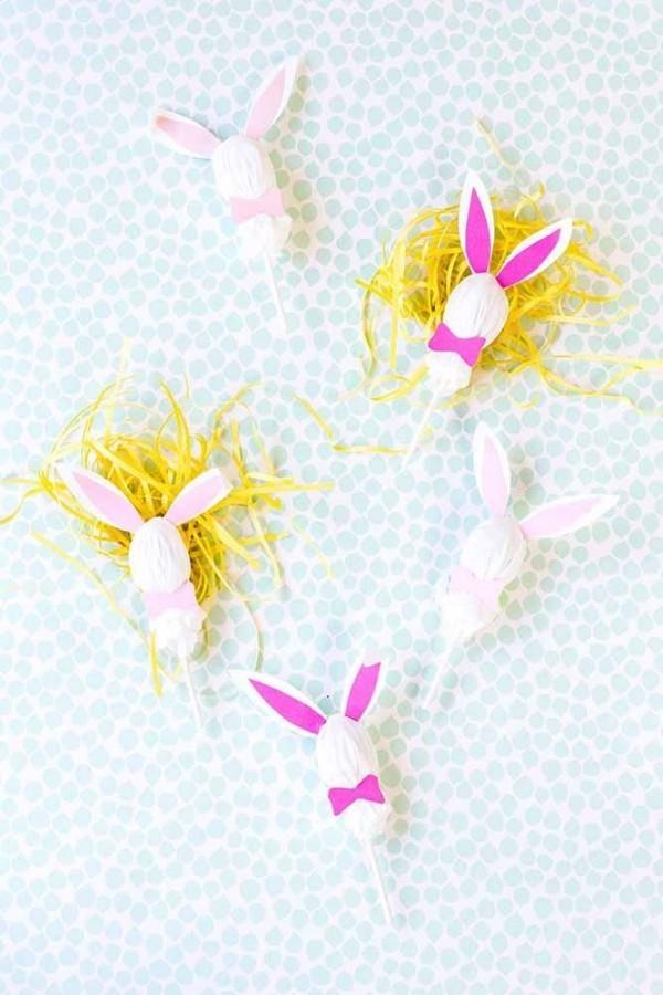 Hasen und Drahte Ostern Geschenke