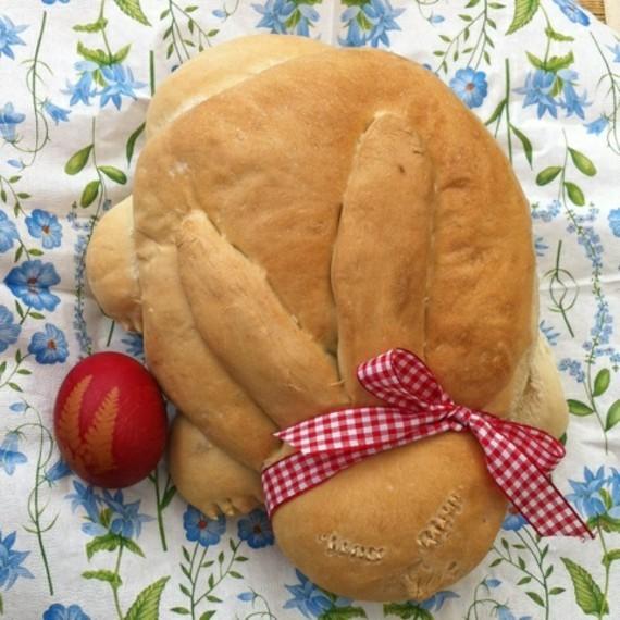 Hefe Osterhasen backen Hefehasen Oster Brot Rezepte