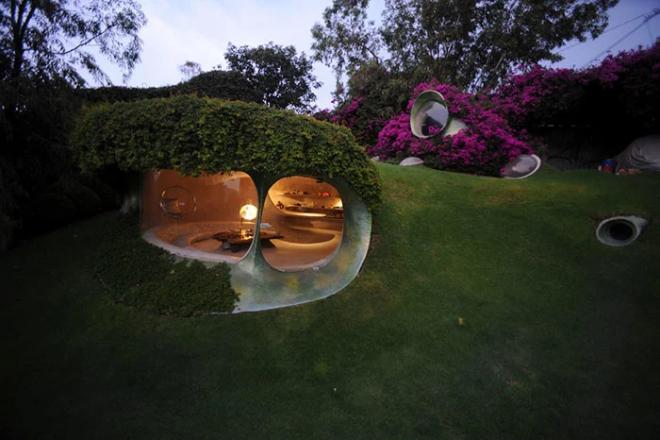 Hobbit House organische Architektur genialer Entwurf mexikanischer Architekt Javier Senosiain