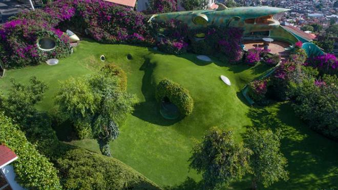 Hobbit House organische Architektur keine Grenzen für die Fantasie