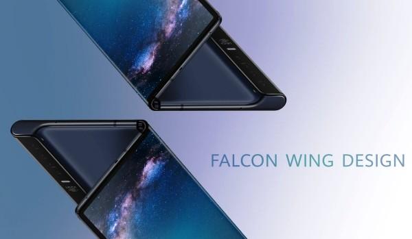 Huawei Mate X Freigabe wird trotz Problemen mit Galaxy Fold nicht verzögert falcon wind design faltstelle