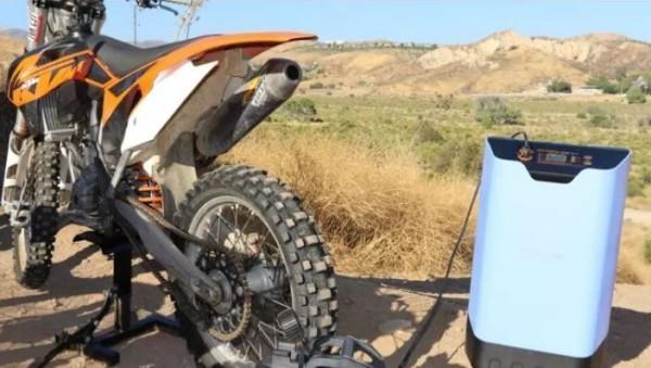 Innovation Motorrad laden