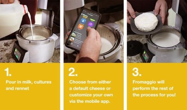 Küchengerät drei Stufen