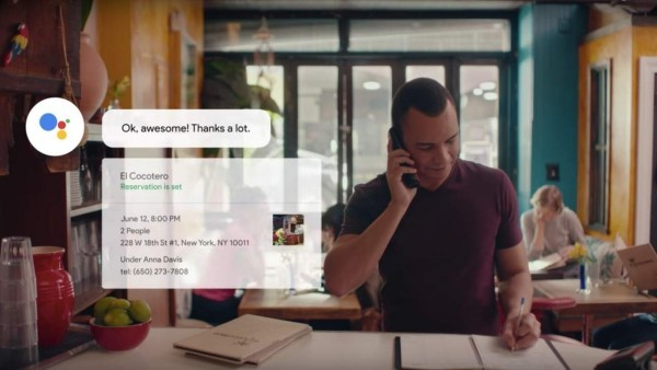 KI-Chatbot Google Duplex ist bereit in den USA verfügbar macht reservierung in restaurant
