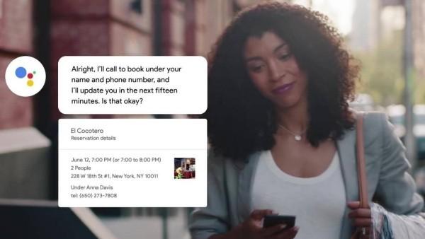 KI-Chatbot Google Duplex ist bereit in den USA verfügbar sicherheitsbedenken angesprochen reservierung