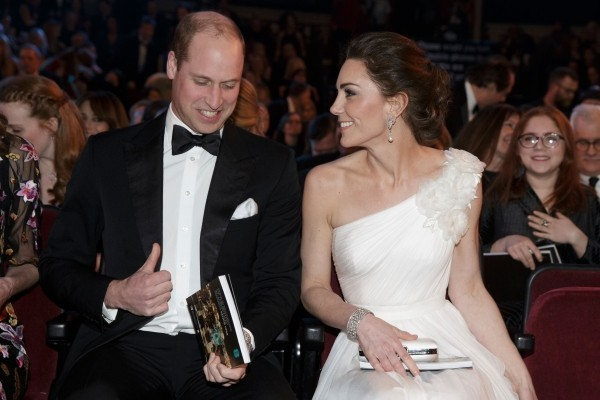 Kate Mddleton mit ihrem Mann