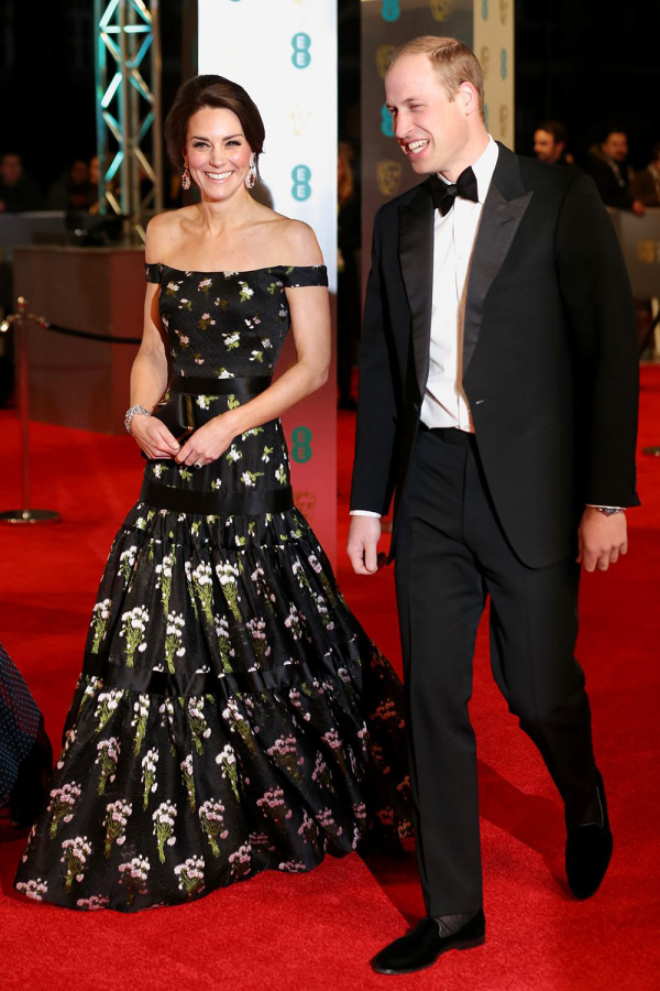 Kate Middleton zusammen mit Prinz William