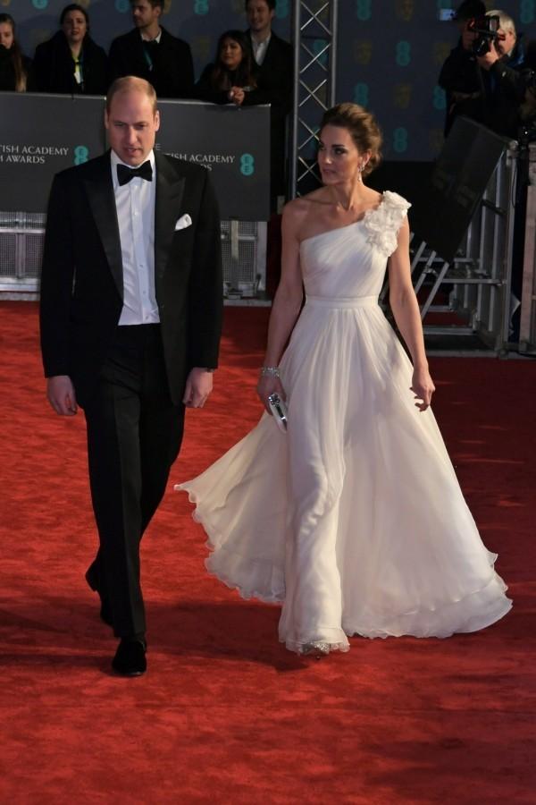 Kate Middleton zusammen mit William