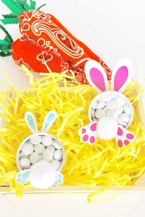 Kleine Hasen-Gestalten Ostern Geschenke