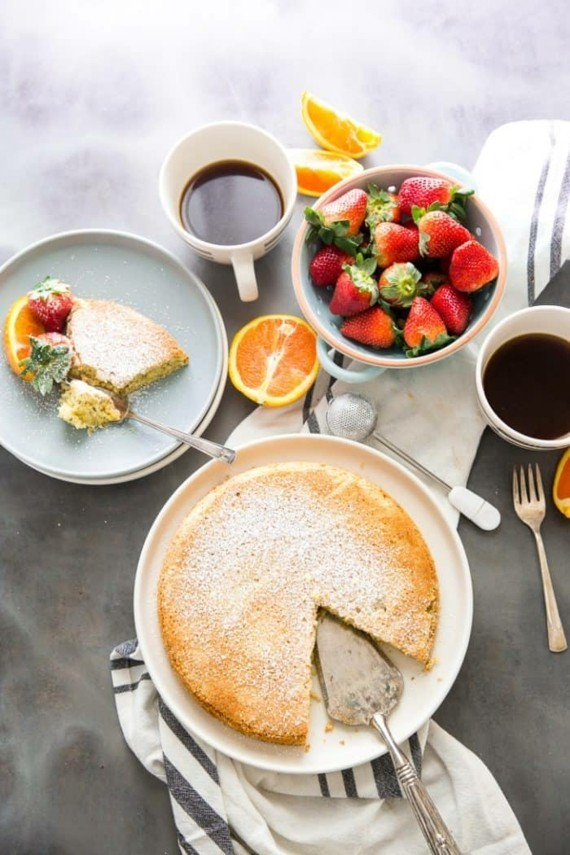 Mandelkuchen Früchtekuchen Rezept Erdbeeren Mandelkuchen ohne Mehl