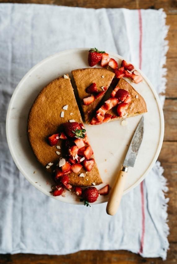 Mandelkuchen Rezept Erdbeeren Mandelkuchen ohne Mehl